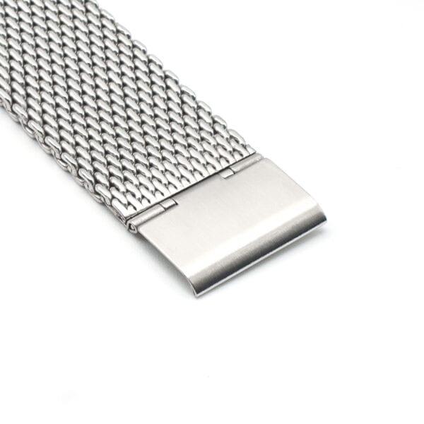 Kiber 22mm Mesh horlogeband detail